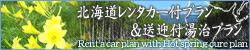 北海道レンタカー付プラン