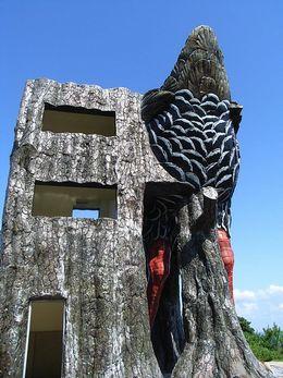 ヤンバルクイナ展望台の入口写真