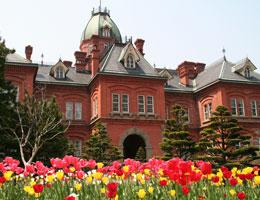 【赤レンガがトレードマーク/北海道庁旧本庁舎】写真