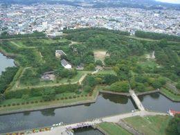 【星形五角形の公園/五稜郭公園】写真