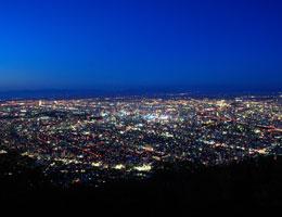 【札幌一のビュースポット/藻岩山展望台】写真