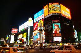 【北海道の歓楽街/すすきの】写真