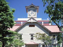【北海道開拓のシンボル/札幌市時計台】写真